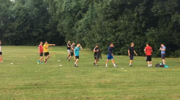 Wraysbury FC Training